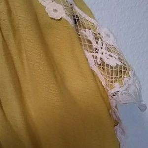 Love Tops - Love yellow women's blouse